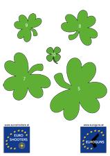 Zielscheibe St. Patrick's Day